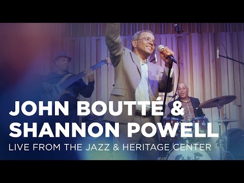 John Boutté & Shannon Powell: Live from the Jazz & Heritage Center