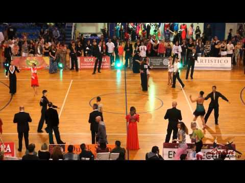 Athens Dance Sport Open 2014 : Adults: IDSA European Cup: Preliminary