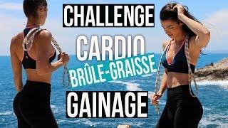 CHALLENGE BRULE GRAISSE ET GAINAGE (Avec corde à sauter)