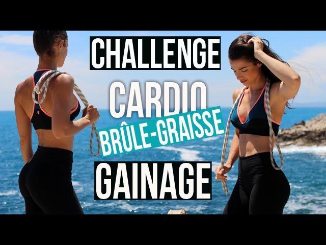 Challenge Brule Graisse Et Gainage Avec Corde A Sauter Youtube