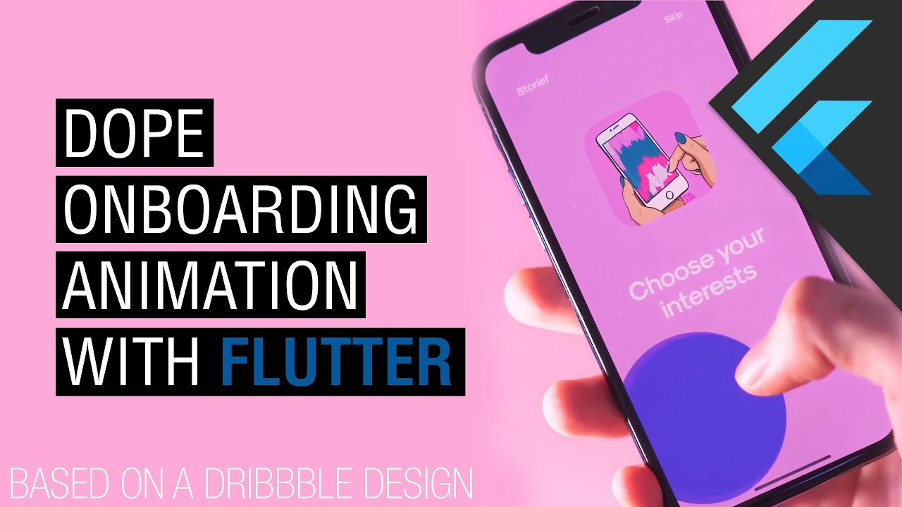 Dope On-boarding Flow Animation with Flutter