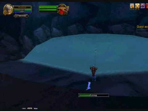 WoW - Fish Fer Squirky (Ironforge Daily Fishing Quest)