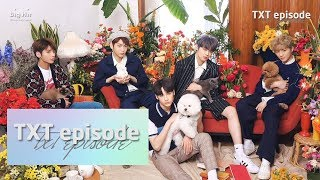 [EPISODE] TXT (투모로우바이투게더) 'Cat & Dog' Jacket shooting sketch