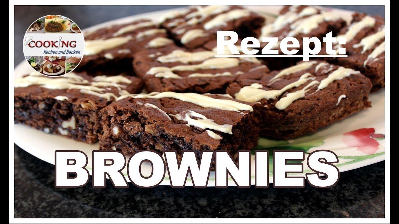 brownies schnell und einfach zubereiten nussig und schokoladig youtube. Black Bedroom Furniture Sets. Home Design Ideas