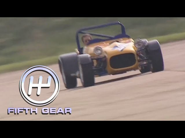 Tiff breaks the 0-60mph world record | Fifth Gear Classic