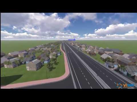 Vientian Highway   3D Detailed Design BIM based   by ViBIM