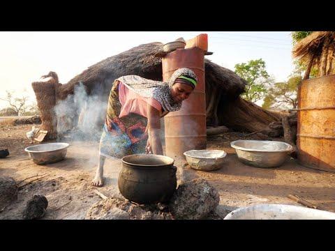 Exploring a WEST AFRICAN VILLAGE in Ghana!! Ghanaian Street Food + Road Trip   Tamale, Ghana
