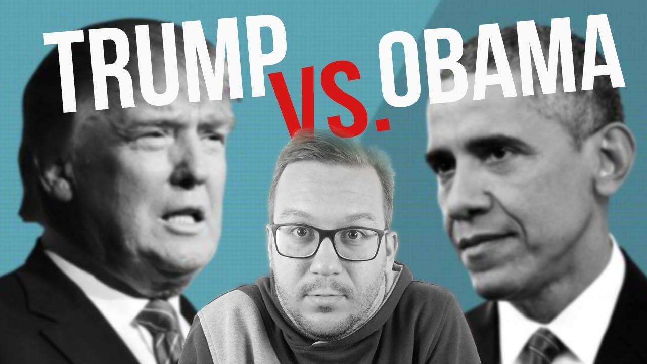 Trump vs Obama (Garry's Mod)