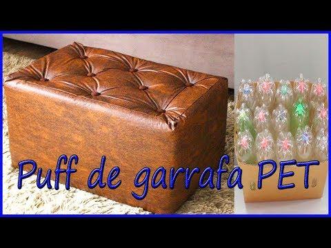 PUFE DE GARRAFA