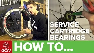 How To Service Cartridge Wheel Bearings
