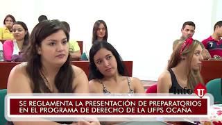 Nota Informativa - Preparatorios Derecho UFPS Ocaña