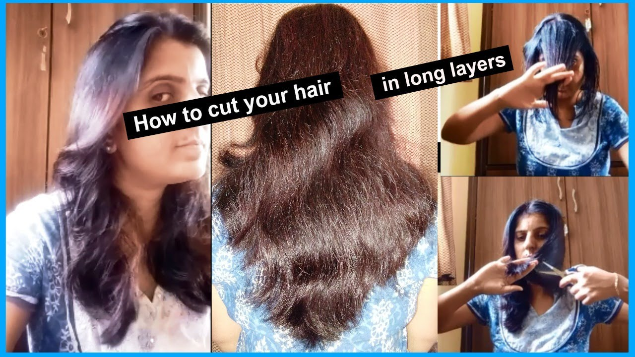 How to layer hair at home pictures.