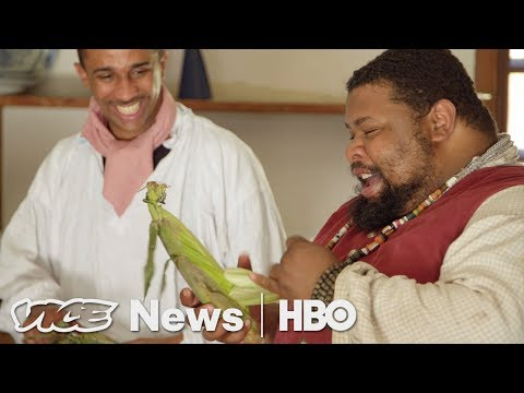 The Man Who Relives Slave History Through Food (HBO)