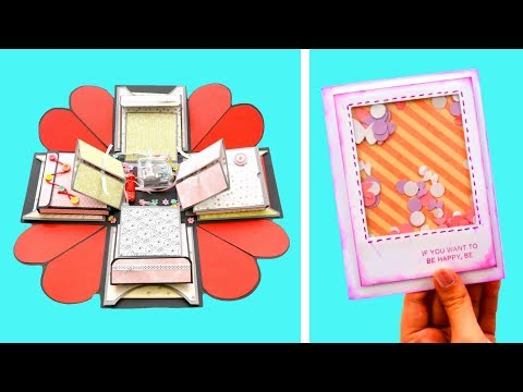 10 CUTE Paper Crafts to sell and make money ( Design Ideas ) | Amazing Greeting Cards to DIY