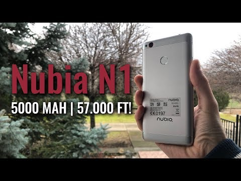 Download Youtube: 5000 mAh! | Nubia N1 teszt