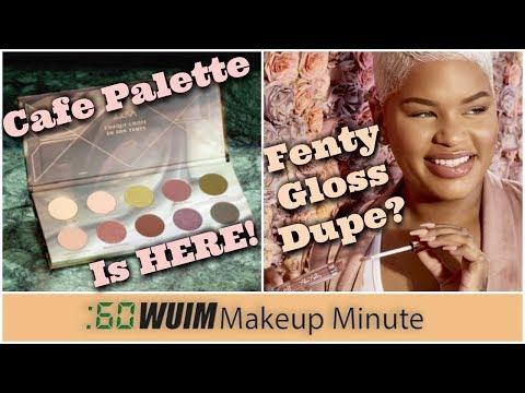 Zoeva Cafe Palette Launch! Alissa Ashley x ELF Gloss Similar to FENTY!  Makeup Minute