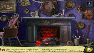 Fireplace riddles - I Spy Spooky Mansion Deluxe