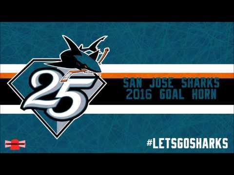San Jose Sharks 2016 Goal Horn
