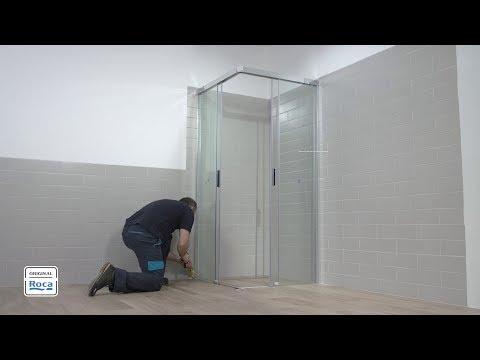 Naray 2L2 Shower Enclosure - Installation | Roca