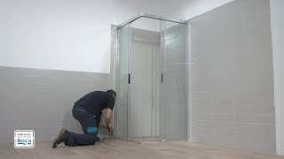 Naray 2L2 Shower Enclosure - Installation | Roca