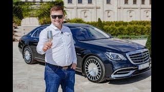 Mercedes-Maybach S560 4MATIC facelift W222 - Mașina cu pahare de 3.800 euro - Test Drive AutoBlog.MD