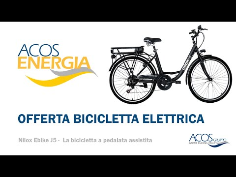 Bici elettrica ACOS ENERGIA