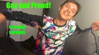 Новое приветствие! GAY AND PROUD! (на русском)