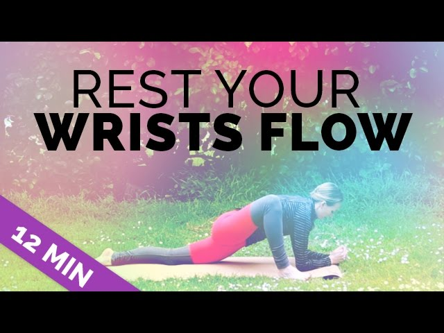 Rest Your Wrists Yoga Flow Yoga Exercises For People With Carpal Tunnel Wrist Pain Injuries Youtube