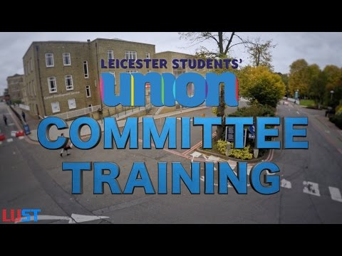 Committee Training & Tips