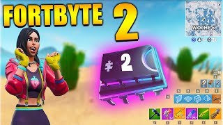 Fortnite Fortbyte 2 💻 Week 6 Loading Screen | All Fortbyte Places Utopia Skins Season 8 English
