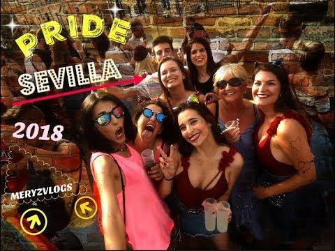 PRIDE SEVILLA 2018 | MERYZVLOGS