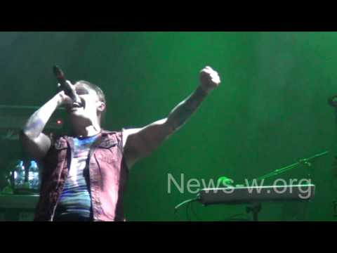 SHINEDOWN - live Moscow, YOTASPACE 22.06.2016