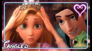 Kingdom Hearts 3 All Cutscenes | Full Movie | Tangled ~ Kingdom of Corona