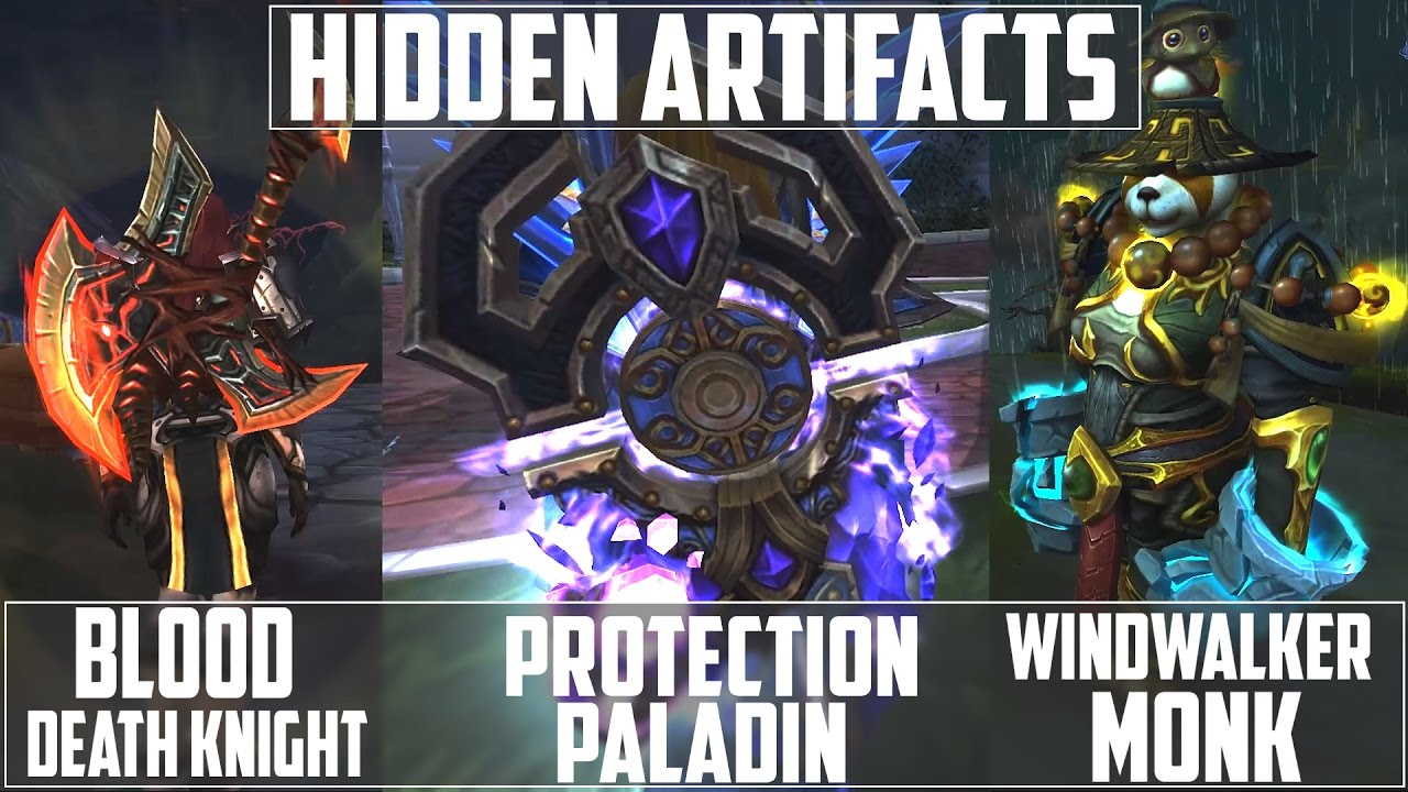 how to get the hidden artifact for prot