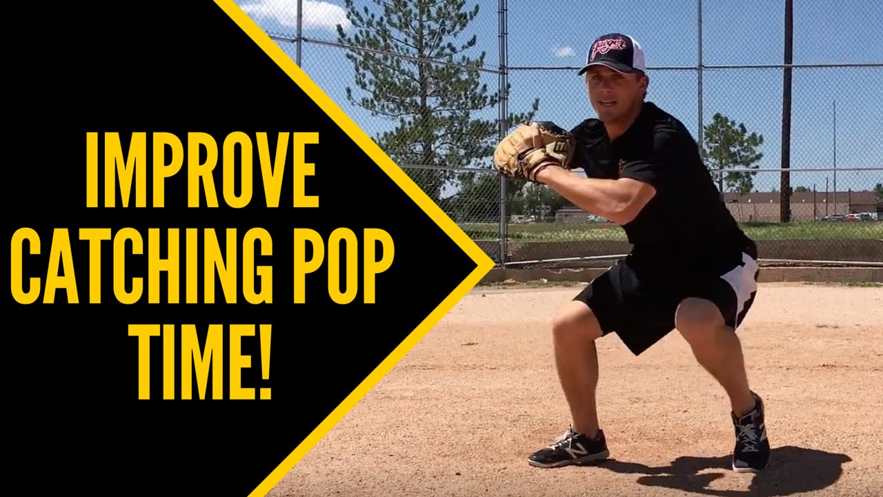 How To Improve Catching Pop Time Fast Baseball Catching Tips