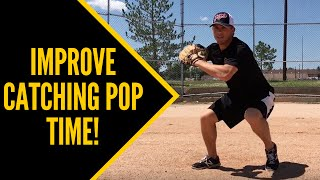 Video How to Improve Catching Pop Time! (FAST!!) - Baseball Catching Tips download MP3, 3GP, MP4, WEBM, AVI, FLV Mei 2018