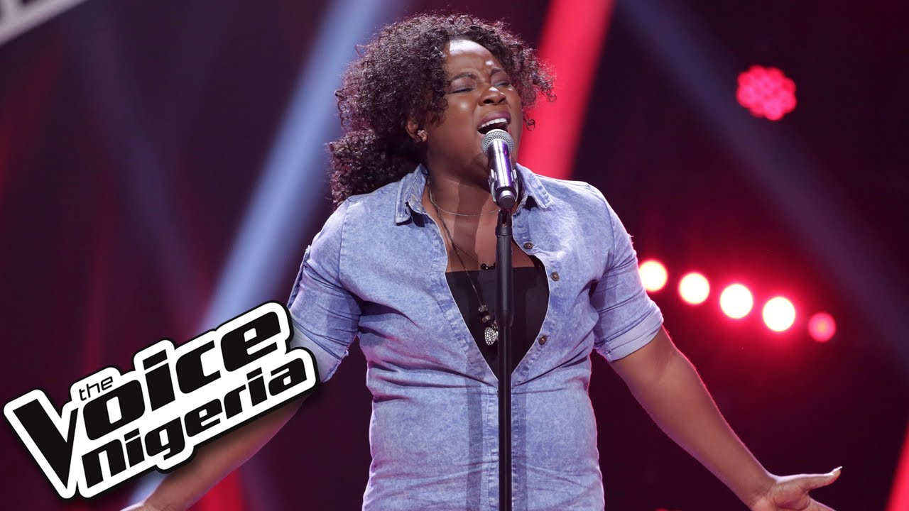 """Download Arewa Comfort sings """"Let me love you"""" / Blind Auditions / The Voice Nigeria Season 2"""