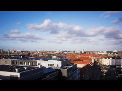 View over København fra 10. sal i Bohrs Tårn