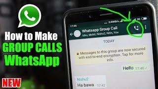 How to Make Group Calls on WhatsApp   WhatsApp Group Calling
