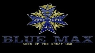 Blue Max: Aces of the Great War gameplay (PC Game, 1990)