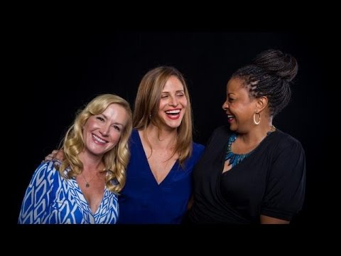 Angela Kinsey, Andrea Savage, Tymberlee Hill on the Las Vegas Craziness