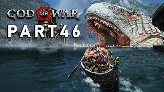 """Let's Play GOD of WAR #46 - """"IN DE BUIK VAN DE SERPENT!"""" - Nederlands, PS4 Pro (4K)"""