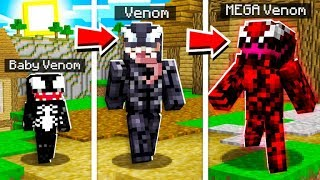 LIFE OF VENOM IN MINECRAFT!