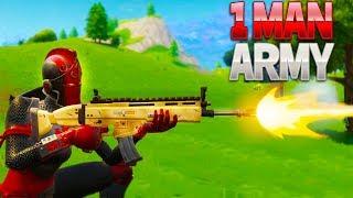 1 MAN ARMY (Fortnite Battle Royale)