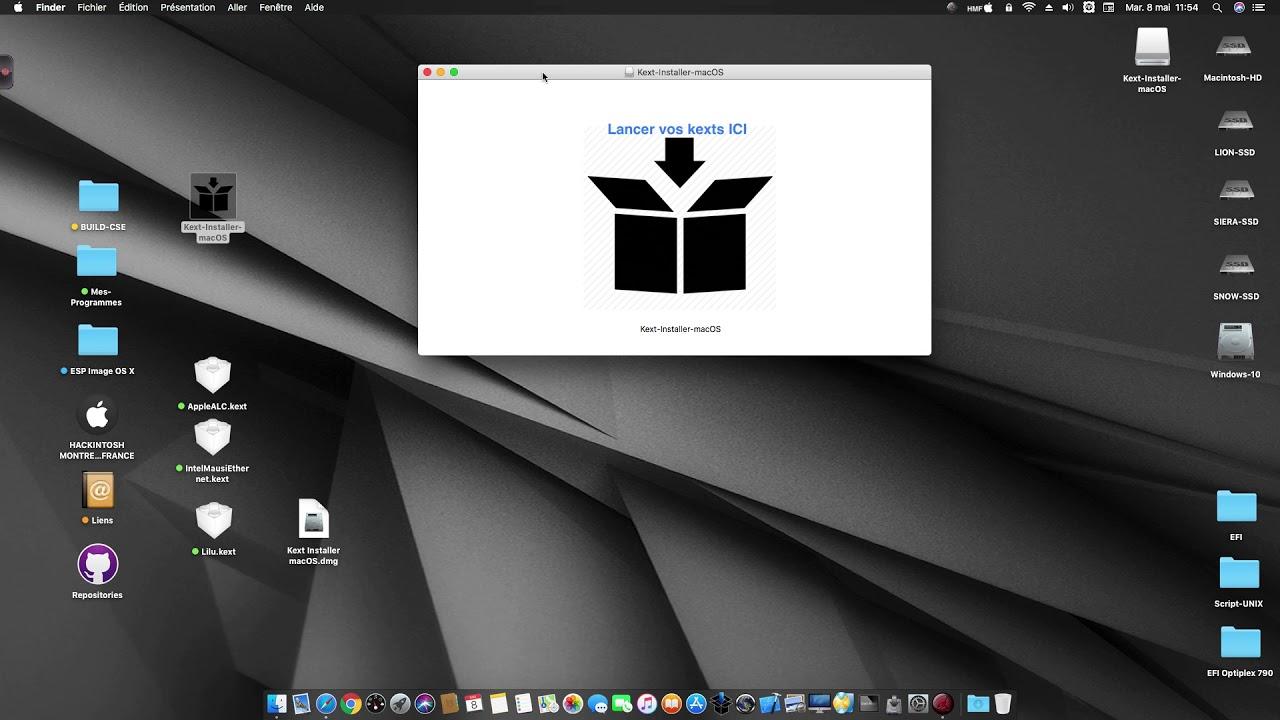 Kext Installer macOS