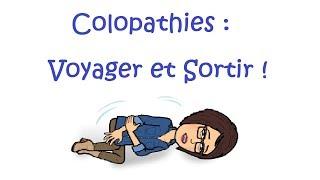 Voyager et Sortir quand on souffre de colopathies