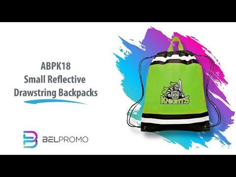 abpk18-|-wholesale-small-reflective-drawstring-backpacks