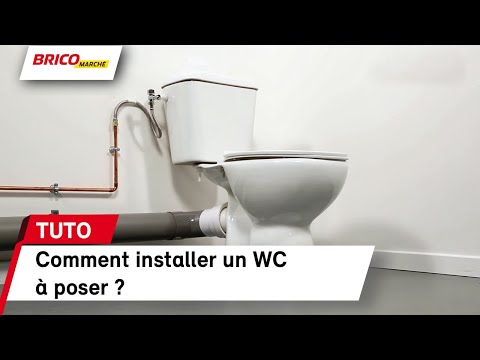 Comment Installer Un Wc à Poser Bricomarché Youtube