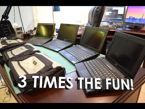 eBay Finds: 3x $35 Dell Latitude 2120's Atom N550 Unboxing, Overview, Tests