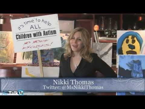 Autism Art Auction, part 7 - Nikki Thomas showcases all the art donations at the event